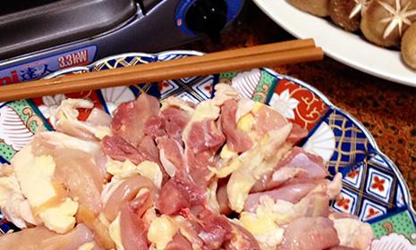 淡海地鶏のすき焼き